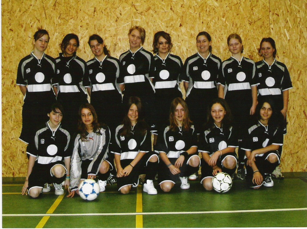 photo équipe filles